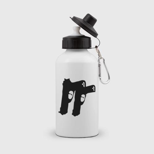 Бутылка спортивная Пистолеты