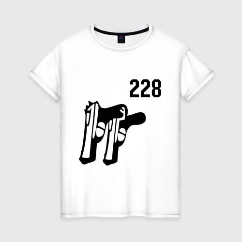 Женская футболка хлопок 228 (2)