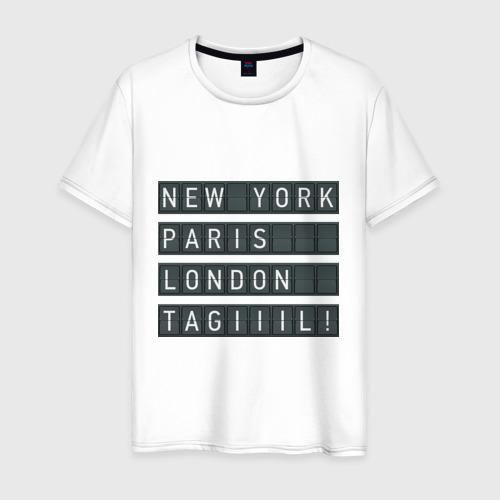 Мужская футболка хлопок New York - Тагил