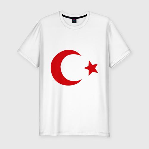 Мужская футболка хлопок Slim Турция