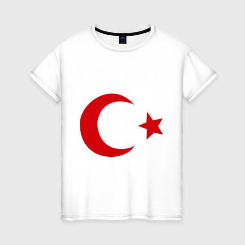 Женская футболка хлопок Турция