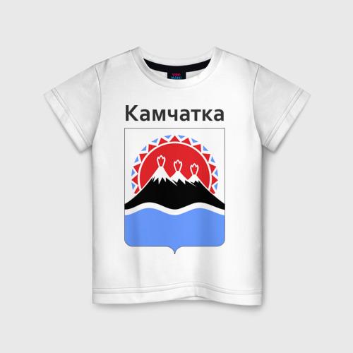 Детская футболка хлопок Камчатка
