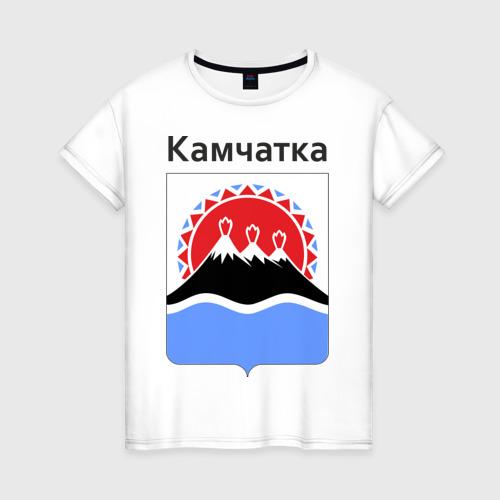 Женская футболка хлопок Камчатка