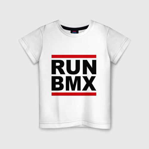 Детская футболка хлопок RUN BMX