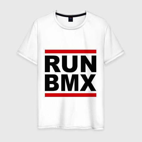 Мужская футболка хлопок RUN BMX
