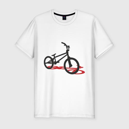 Мужская футболка хлопок Slim BMX 1