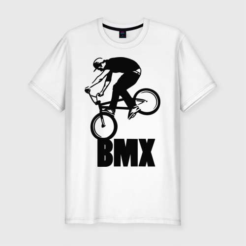 Мужская футболка хлопок Slim BMX 3