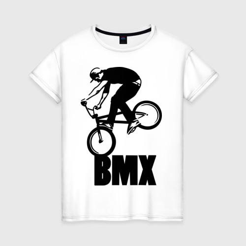 Женская футболка хлопок BMX 3