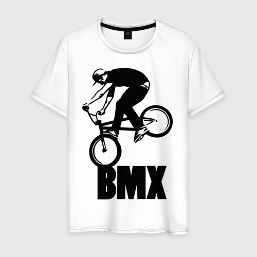 Мужская футболка хлопок BMX 3