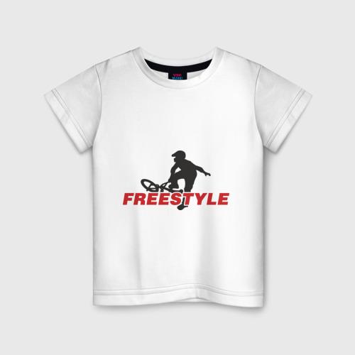 Детская футболка хлопок Free style BMX