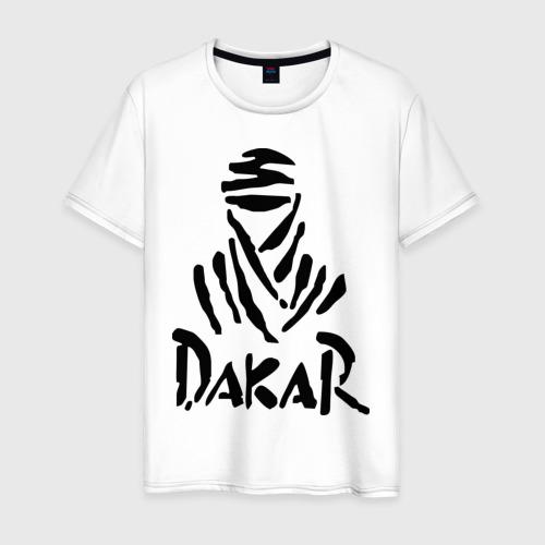 Мужская футболка хлопок Rally Dakar
