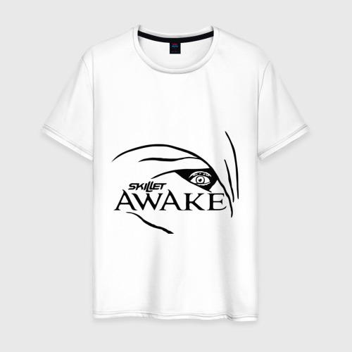 Мужская футболка хлопок Skillet awake