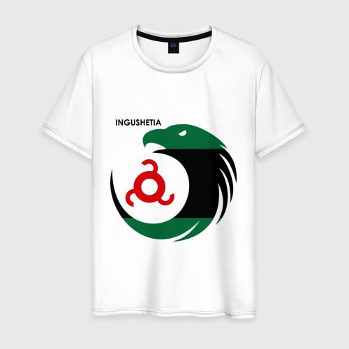Мужская футболка хлопок Ингушетия орел