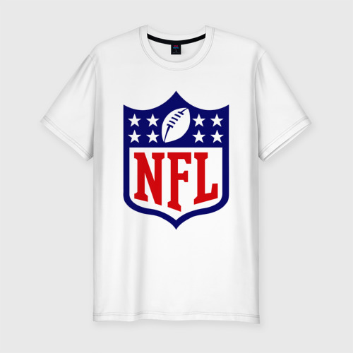 Мужская футболка хлопок Slim NFL
