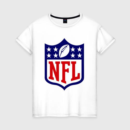Женская футболка хлопок NFL