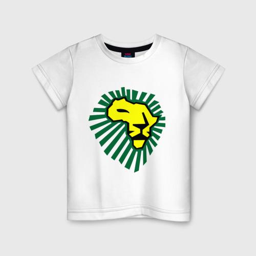 Детская футболка хлопок Waka Waka Лев