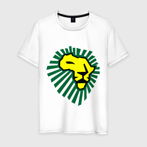Мужская футболка хлопок Waka Waka Лев