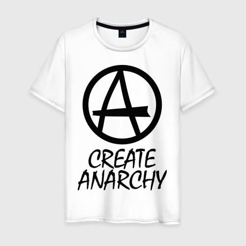 Мужская футболка хлопок Create anarchy