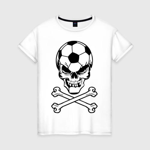 Женская футболка хлопок Football Ultras (1)