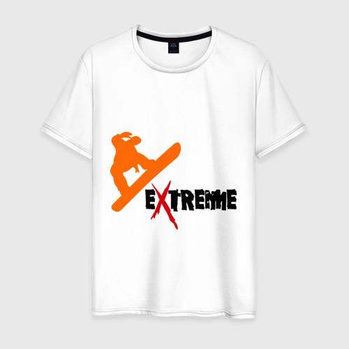 Мужская футболка хлопок Сноу экстрим