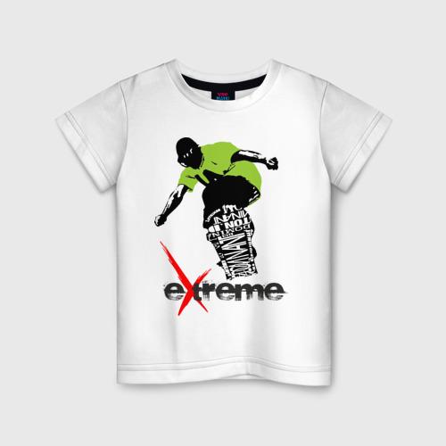Детская футболка хлопок Экстрим