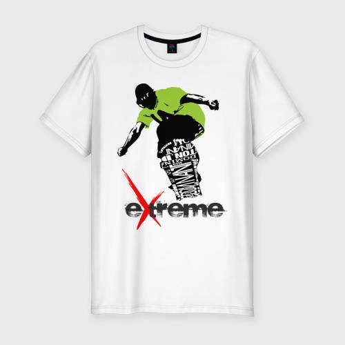 Мужская футболка хлопок Slim Экстрим