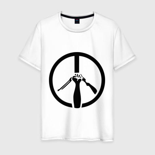 Мужская футболка хлопок Пацифизм