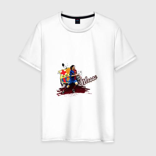 Мужская футболка хлопок Messi 3