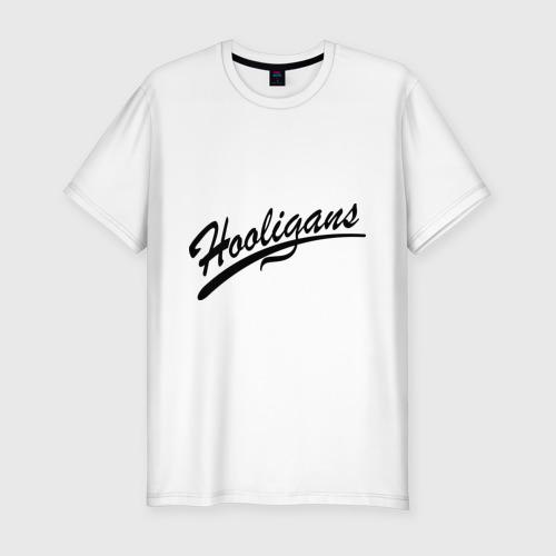Мужская футболка хлопок Slim Hooligans