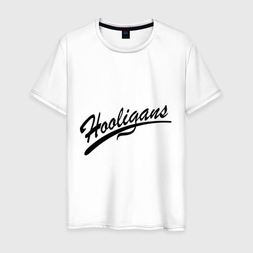Мужская футболка хлопок Hooligans