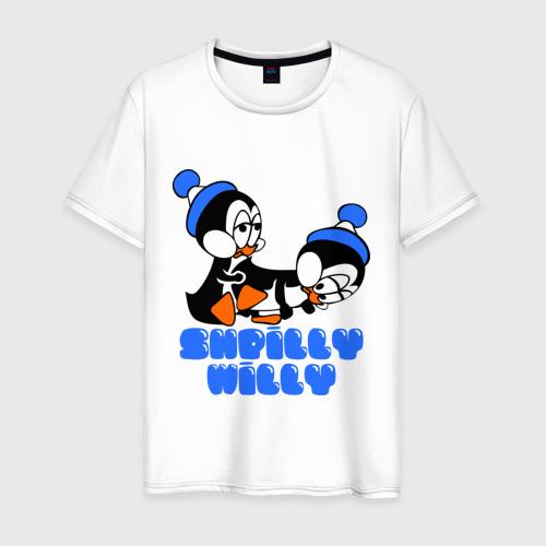 Мужская футболка хлопок shpilly willy