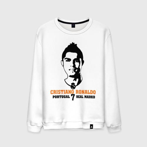Мужской свитшот хлопок Cristiano Ronaldo 7