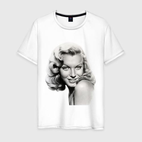 Мужская футболка хлопок Мэрилин Монро фото