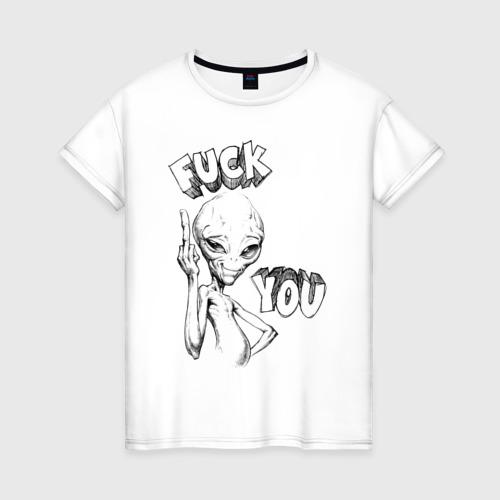 Женская футболка хлопок Пол: Секретный материальчик