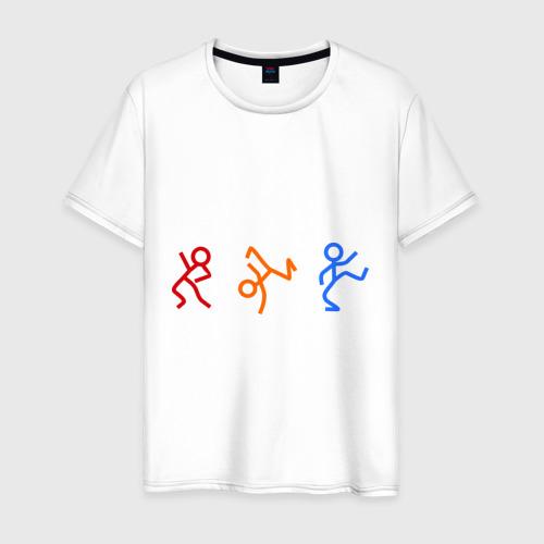 Мужская футболка хлопок чубрики dens