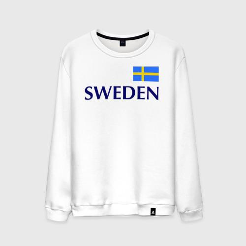 Мужской свитшот хлопок Сборная Швеции - 10