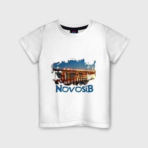 Детская футболка хлопок Novosib print
