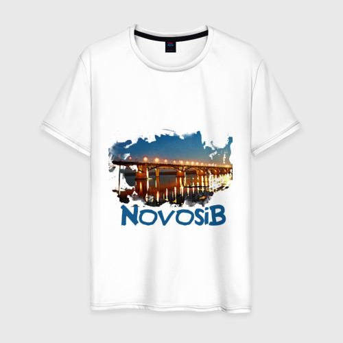 Мужская футболка хлопок Novosib print