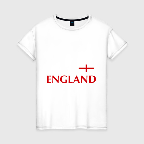 Женская футболка хлопок Сборная Англии - Стивен Джеррард 4