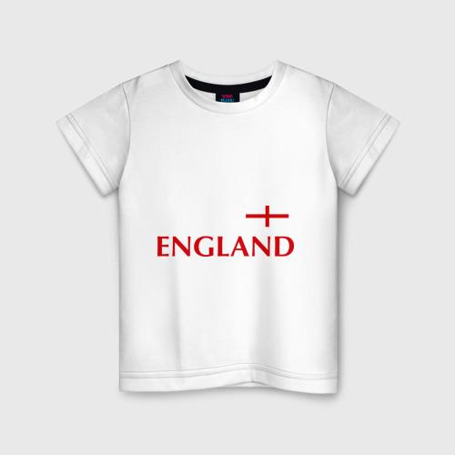 Детская футболка хлопок Сборная Англии - 10