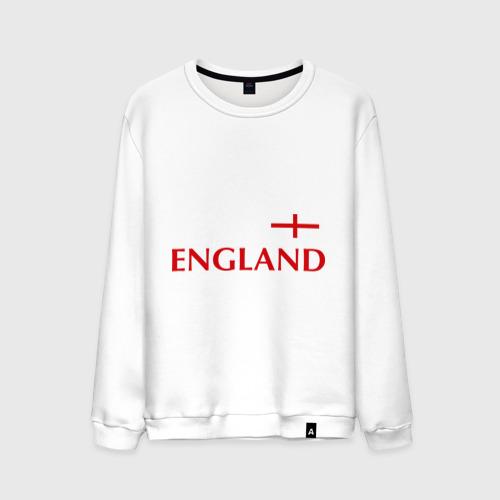 Мужской свитшот хлопок Сборная Англии - 10