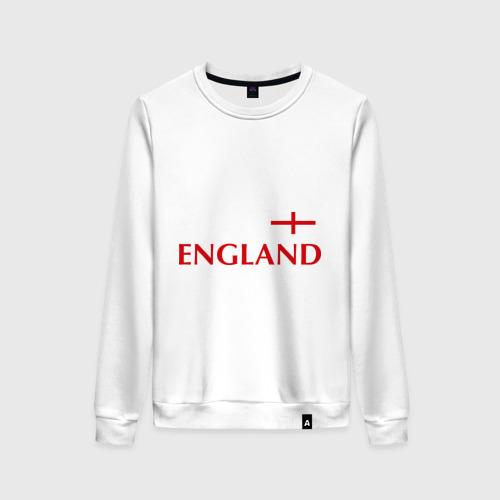 Женский свитшот хлопок Сборная Англии - 10
