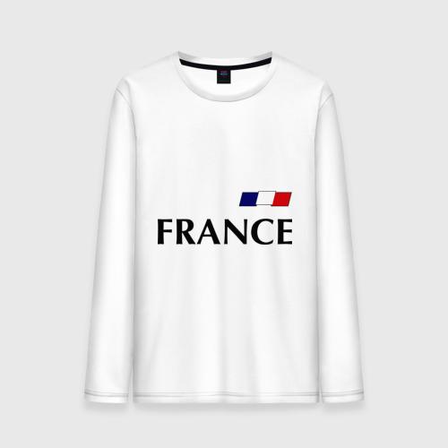 Мужской лонгслив хлопок Сборная Франции - 8