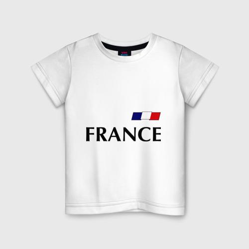 Детская футболка хлопок Сборная Франции - 8