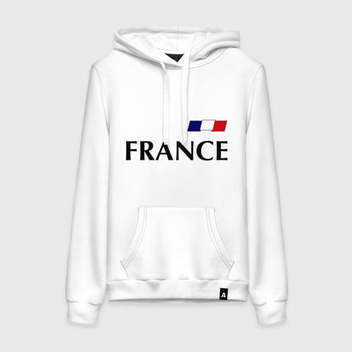 Женская толстовка хлопок Сборная Франции - 8