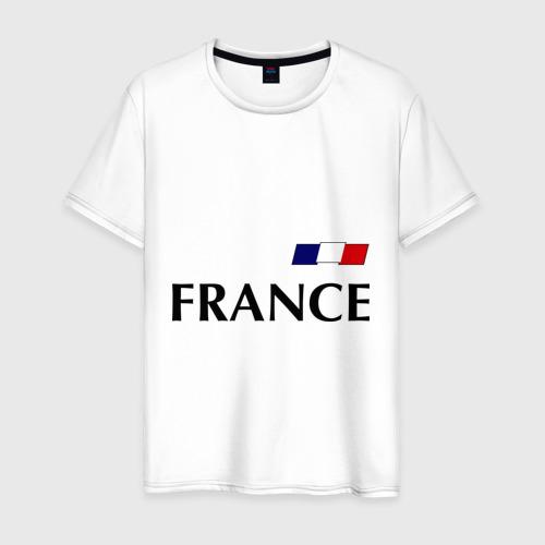 Мужская футболка хлопок Сборная Франции - 8