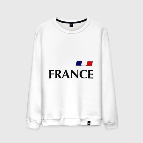 Мужской свитшот хлопок Сборная Франции - Бензима 10 (Benzima)