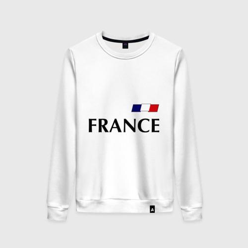 Женский свитшот хлопок Сборная Франции - Бензима 10 (Benzima)