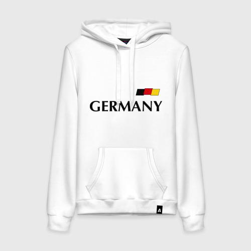 Женская толстовка хлопок Сборная Германии - 10