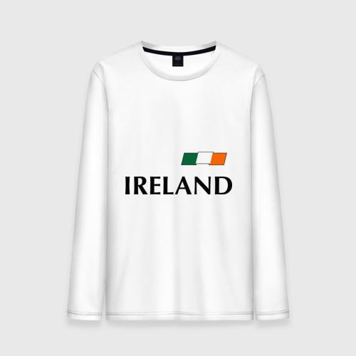 Мужской лонгслив хлопок Сборная Ирландии - 7